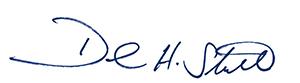 David Stull signature