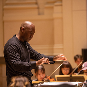 A photo of conductor Joseph Young