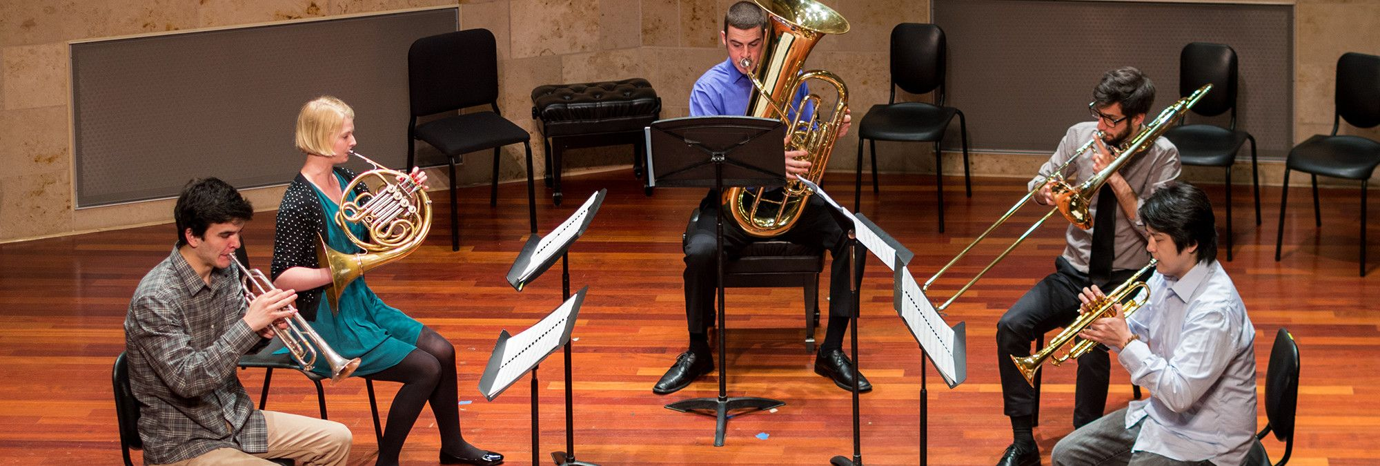 Brass Chamber Music in SFCM
