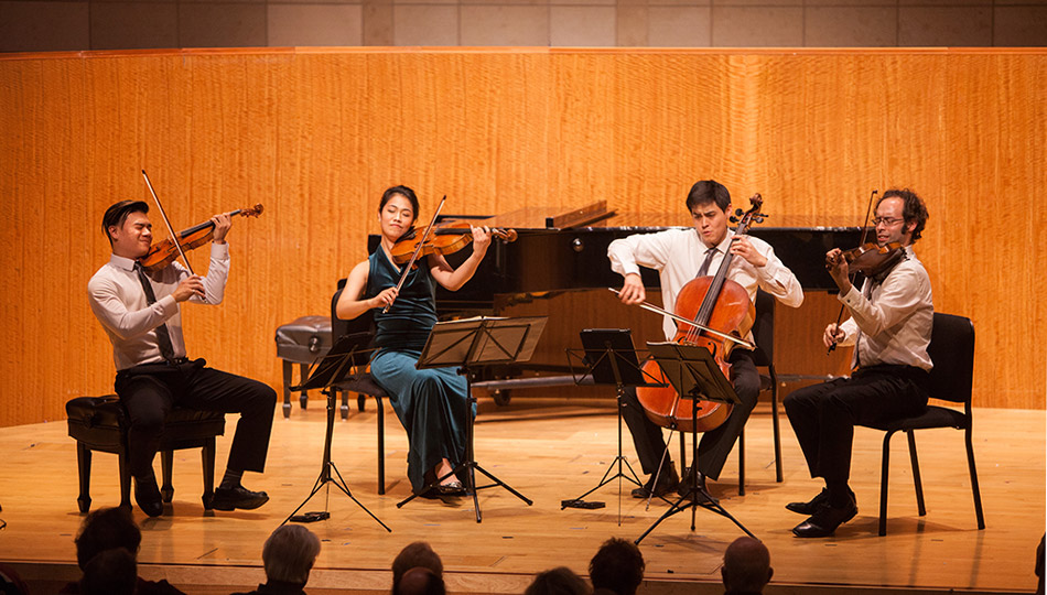 Artist Resident, the Telegraph Quartet, at the San Francisco Conservatory of Music