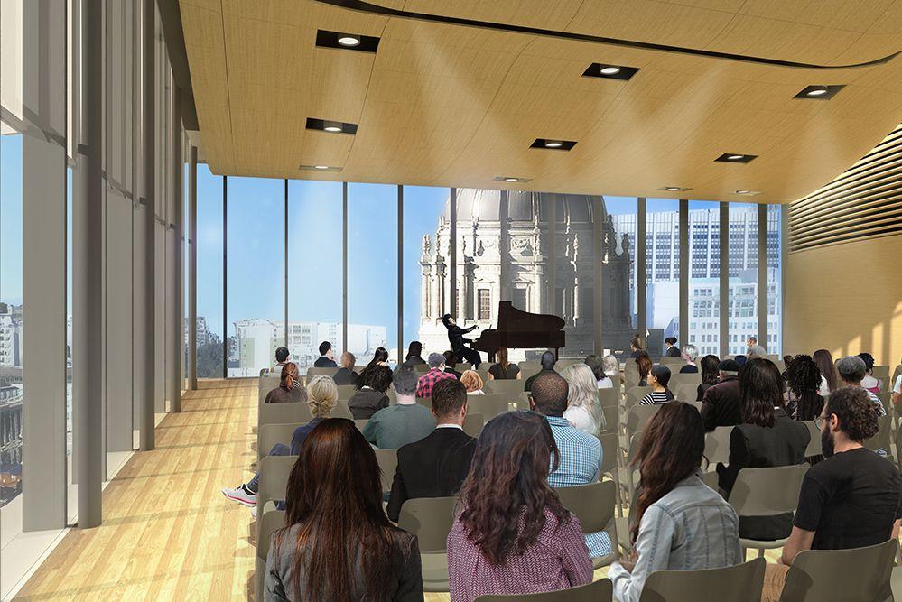 SFCM Bowes Center, Performance Hall