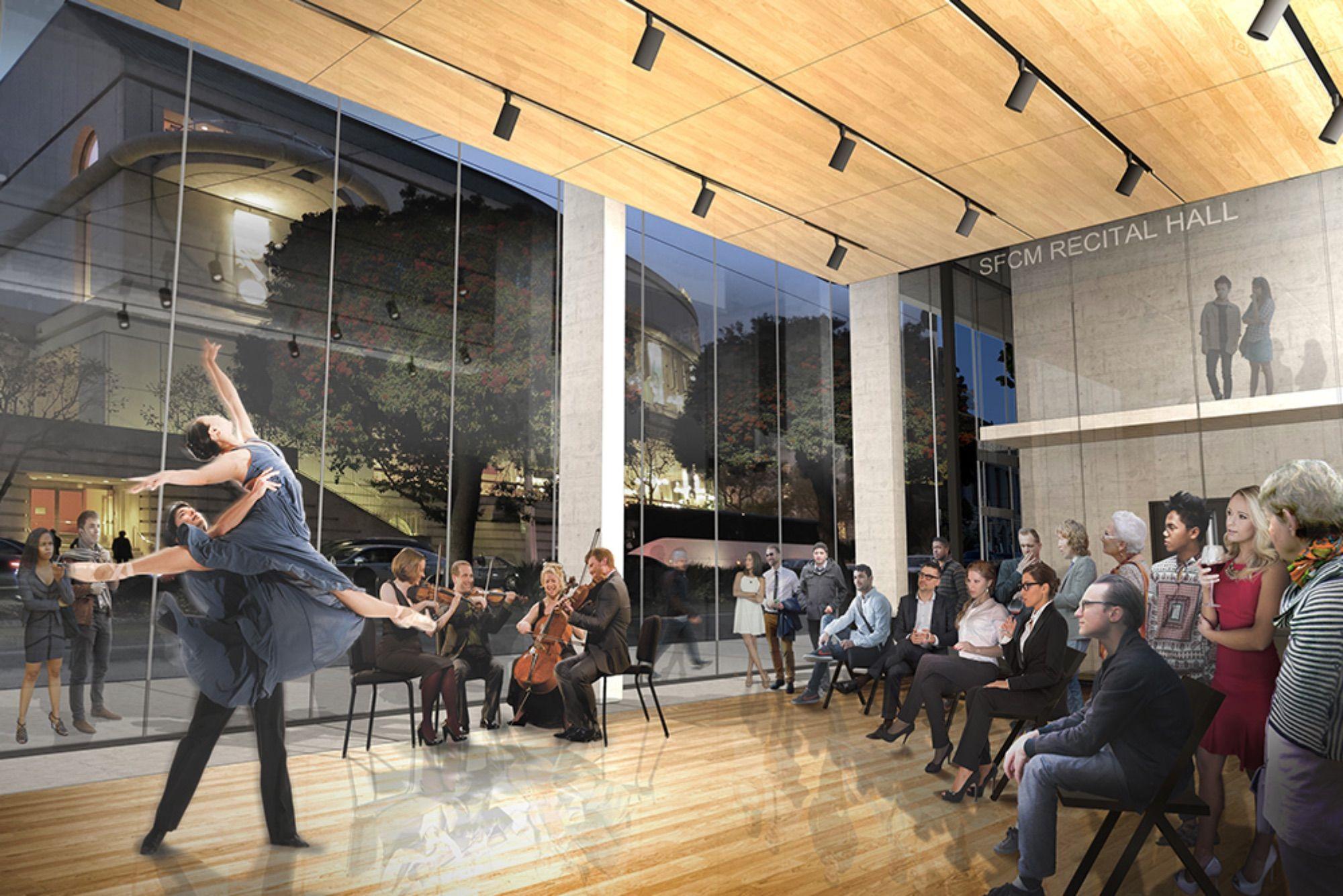 Bowes Center Recital Hall