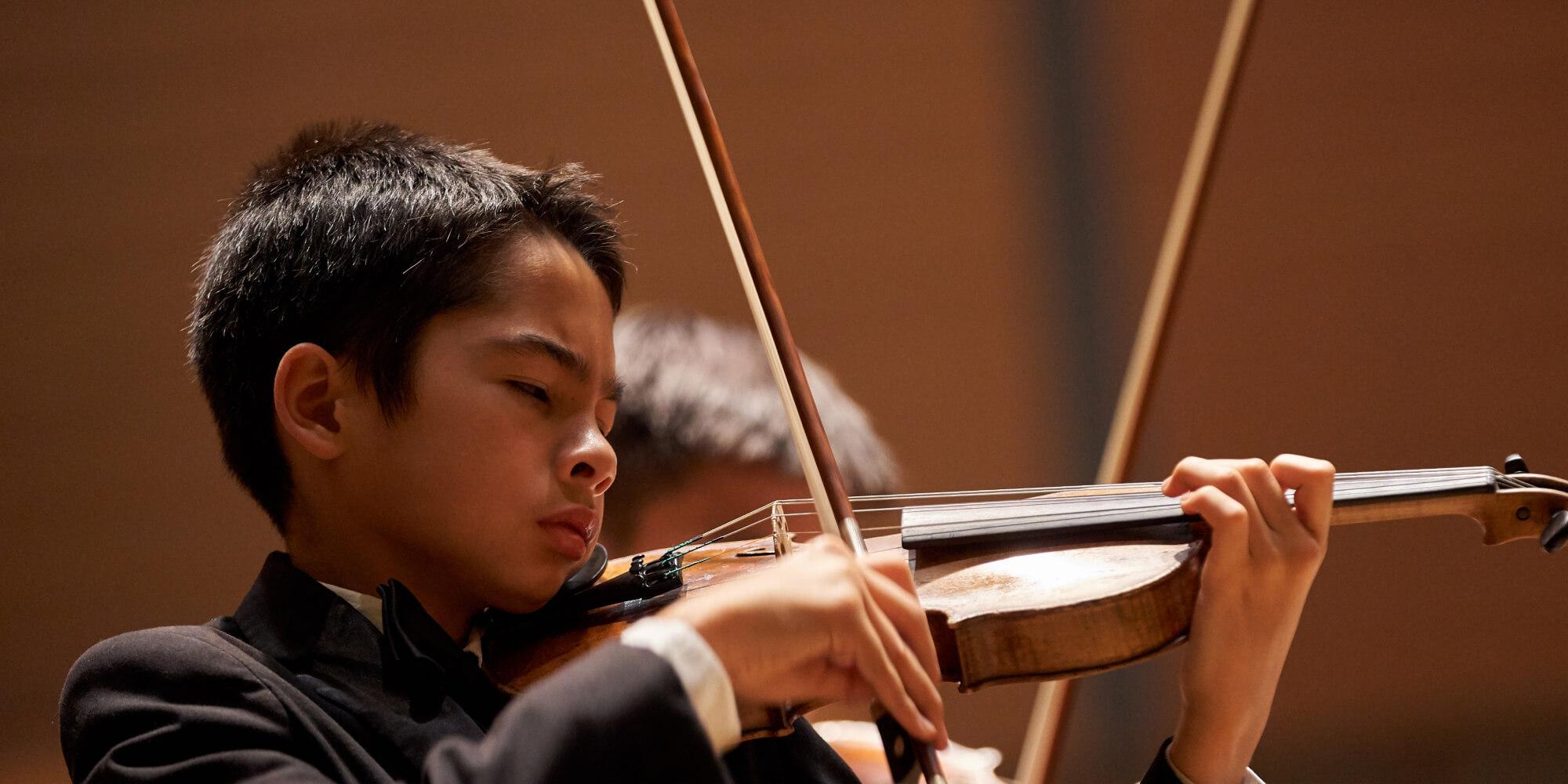 Pre-College student violin
