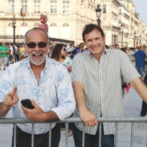 Emil Miland and David Conte in Paris