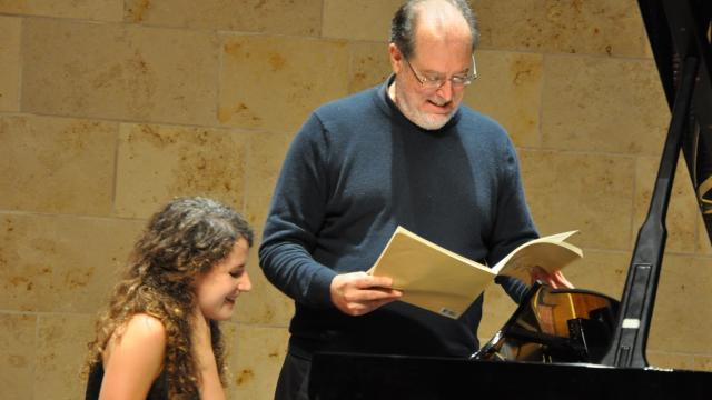 Garrick Ohlsson, faculty member