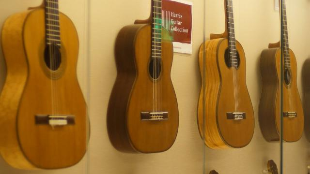 Guitars in the John Harris Collection