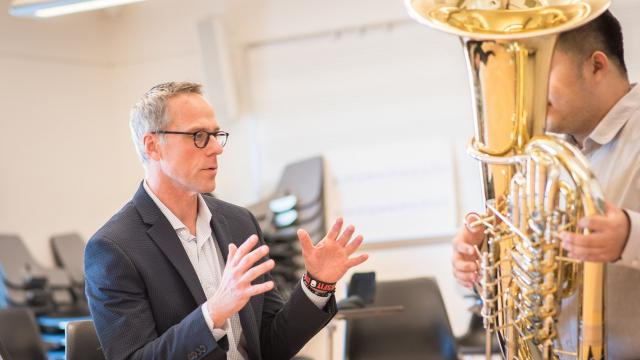 Jeffrey Anderson, Professor of Tuba