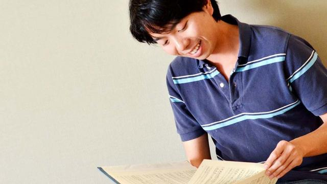 A photo of a San Francisco Conservatory of Music student studying