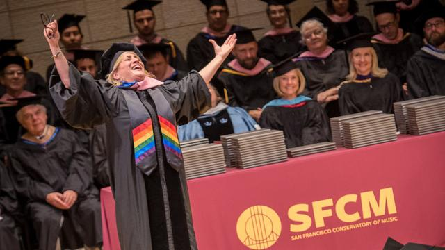 Patricia Racette, 2017 San Francisco Conservatory of Music Honorary Doctorate Recipient
