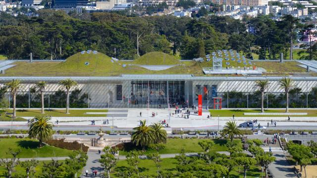 California Academy of Arts in Golden Gate Park